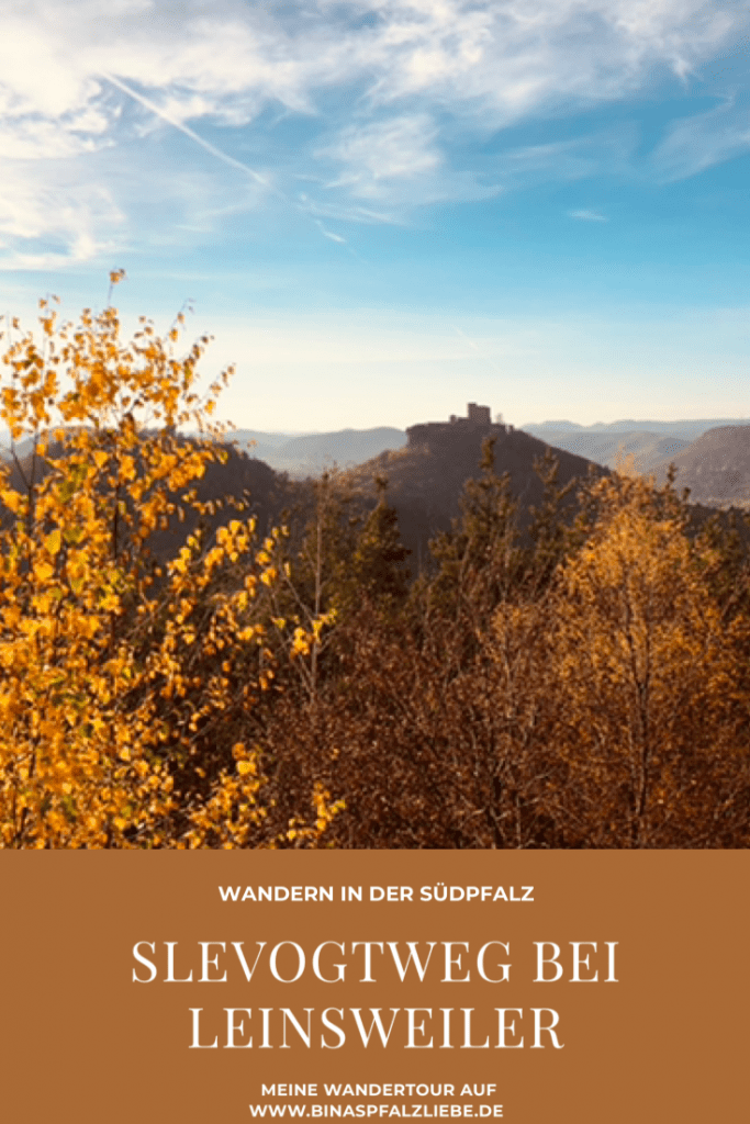 Wandertour Slevogtweg bei Leinsweiler #wanderweg #wandertour #wandertipp #pfalz #pfälzerwald #trifels #burg #slevogtweg