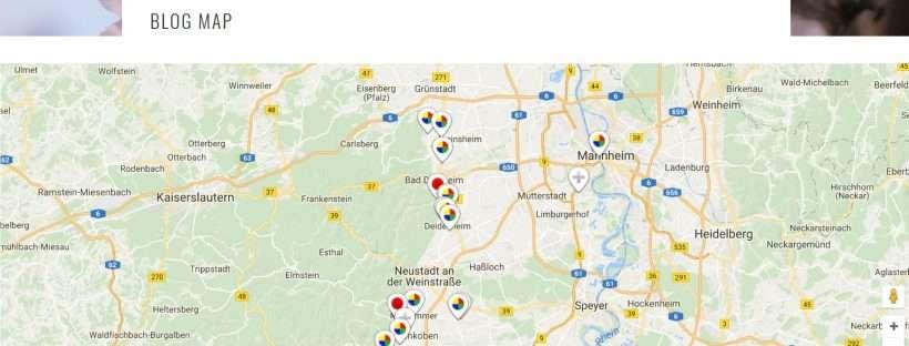 Neu bei Binas Pfalzliebe: die Blog Map