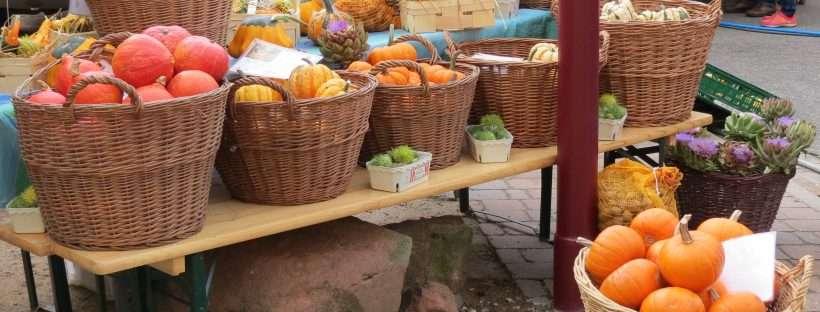 Deutsch-Französischer Biosphären-Bauernmarkt in Kirrweiler