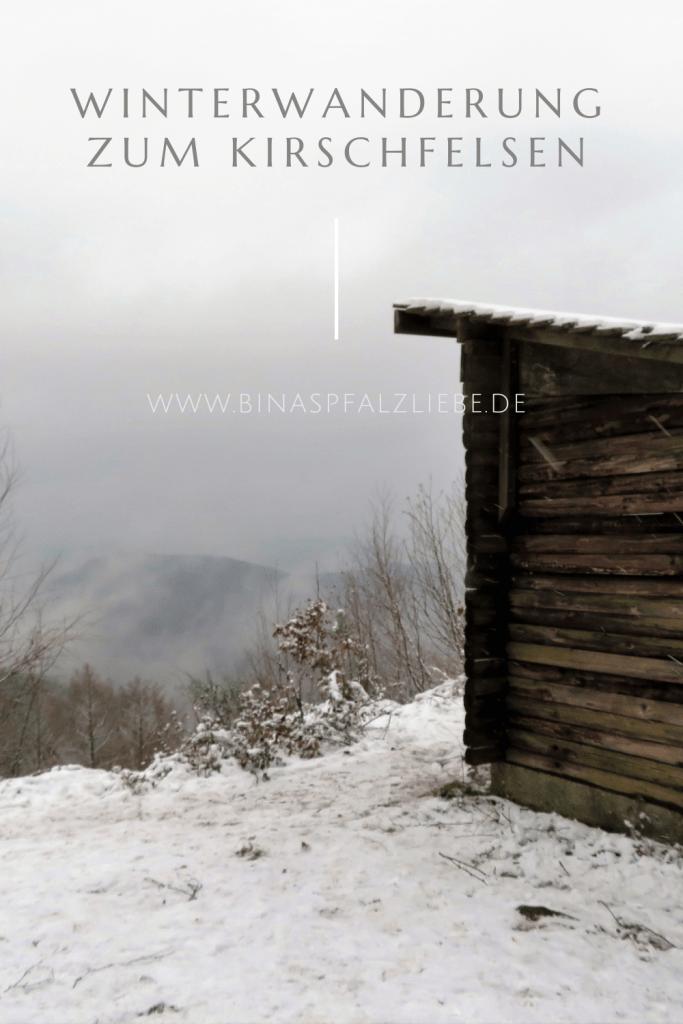 Winterwanderung zum Kirschfelsen #annweiler #kirschfelsen #pfalz #pfälzerwald #wanderung