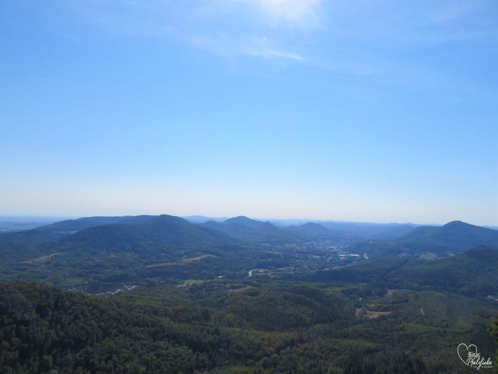 Aussicht vom Orensfelsen #orensfels #frankweiler #aussichtspunkt